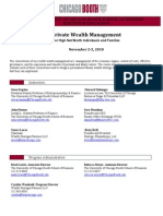 PWM Nov 2-5 2010 Draft Agenda