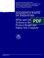 Hazardous Waste Incinerators