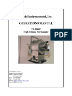 Operations Manual Te2000ps