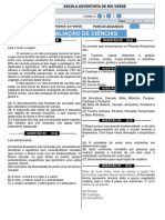 AV1- Ciências 1ºbimestre