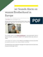 Muslim Brotherhood Deep Roots in Europe