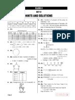 Solution Class 4 Set 2