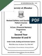 B.com Financial Market MU
