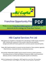 Franchise Partner Program - HBJ Capital