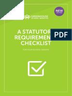 Greenhouse Ofsted Checklist 2017 v1.3