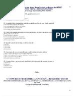Resumo PP Banca Anac