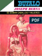BUFALO Azul 401 - Se Doman Caballos y Mujeres [1979] - Berna, Joseph
