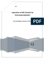 White Paper Immunoseparation of HDL Particles