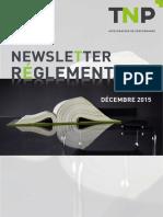 TNP Newsletter-Reglementaire 201512