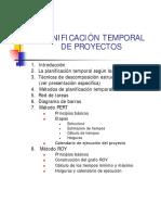 1.2 La Planificacion Temporal de Proyectos