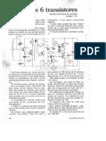 Radio de 6 Transistor