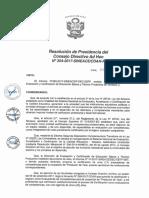 Resolución N°354-2017-SINEACE-CDAH-P