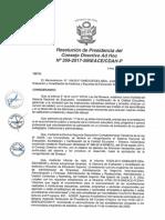 Resolución N°359-2017-SINEACE-CDAH-P