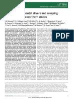 2014 Nocquet Et Al Peru Creeping Subduction NatureGeoscience