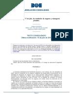 Ley 26-2006 Mediacion Seguros