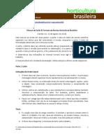 Normas Horticultura Brasileira