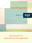 Chap001 - Introduction to Operations Management