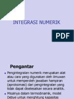 Bab 4 Integrasi Numerik