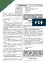 Decreto Supremo Nº 018-2017-JUS