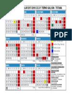 Calendario Escolar 2017-2018 Tierno Galván