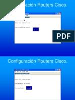 Configuración Routers Cisco Switching y VLAN