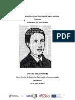 Cesário Verde Ivan о(1)