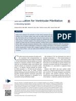 Defibrillation for Ventricular Fibrillation