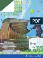 Programa Fiestas Chamartín 2017