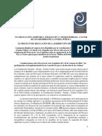 CONSTANCIA |Constancia Dirigida Al Congreso de La Republica - PAL 02 y 03 2016 sobre Jurisdiccion de Paz y Trato Para Militares CCEEU