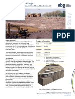 ABG Embankment Drainage Consolidation Fildrain Ashton Moss Manchester UK CASE STUDY