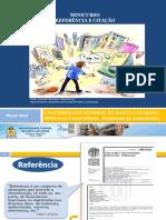 Slides Referencias e Citação Com Exemplos 2014