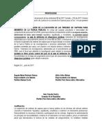 PROPOSICION | Proposiciones Al Proyecto de Ley Estatutaria JEP Radicado en Segundo Semestre