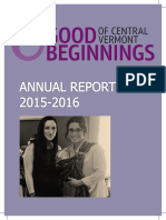 Good Beginnings Annual Report FY 15-16