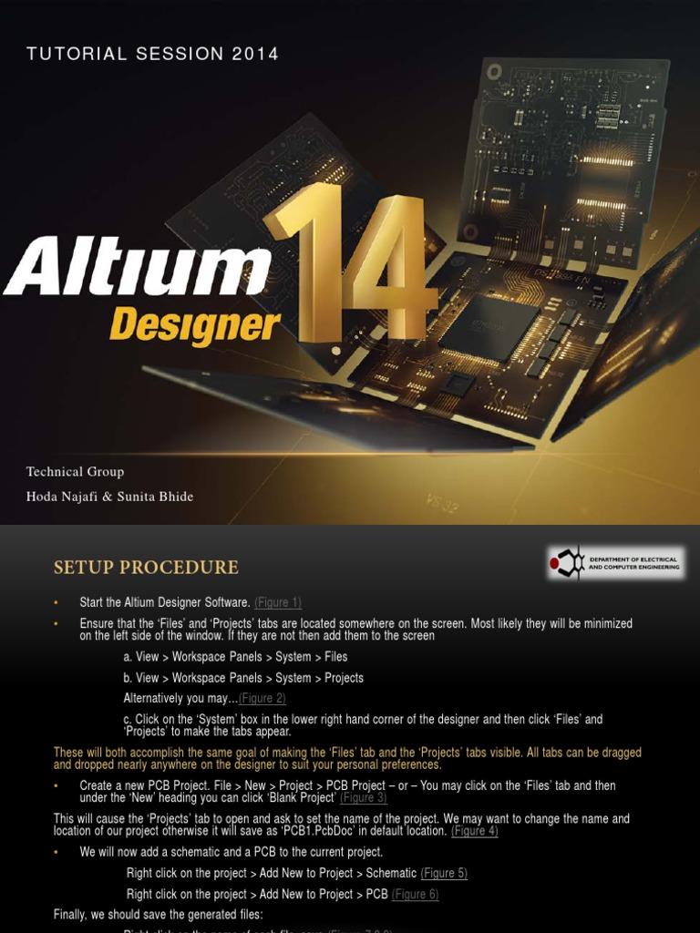 Altium Tutorial Printed Circuit Board Software Schematic Wire Jump