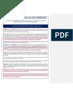PROYECTO LEY | Borrador de Proyecto de Reforma de La L.1448 Elaborado Por Las Organizaciones