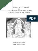 Exéquias D. José Policarpo (Coro)