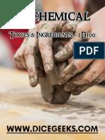 Alchemical Tools & Ingredients - 1D100
