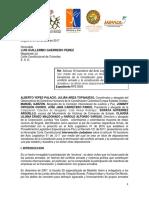 INTERVENCIÓN | Intervención Responsabilidad de Terceros, Articulo 16 AL001-2017