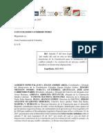 INTERVENCIÓN | Intervención  UBPD Articulo 3o, AL001.2017