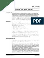 The Mplab Ide Debug Tool API Ds-51761b