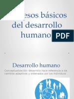 Procesos Básicos Del Desarrollo Humano..