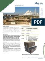 ABG Capilliary Break Salt Barrier Sheikh Zayed Grand Mosque Abu Dhabi CASE STUDY
