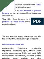 10. Autocoids and Antihistamine