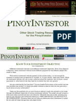 PinoyInvestor Academy - Know Your Investment Objective (26 May 2013)