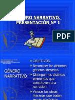 n1 Gnero Narrativo. Presentacin (2)
