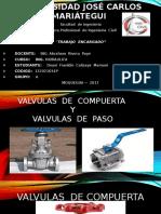 VALVULA DE COMPUERTA Y VALVULA DE PASO.pptx