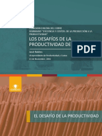 CODELCO Desafio de La Productivida_Presentación José Robles Cochilco 21112016 Rev0
