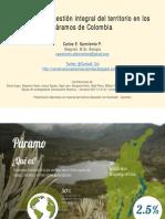 Retos Para El Ordenamiento Territorial en Los Páramos Colombianos-C.sarmiento-CursoAmbienteySociedad