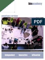 BIM Academy Consultancy Services Brochure
