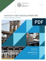 RFEI for Amazon HQ2